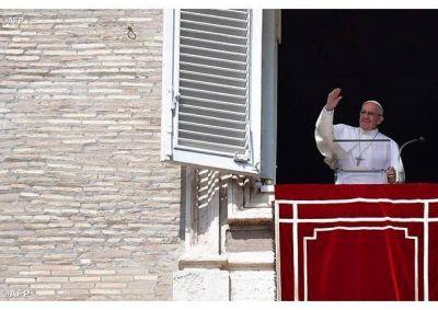 Ángelus del Papa: el Señor nos indica hacia dónde lleva la cruz