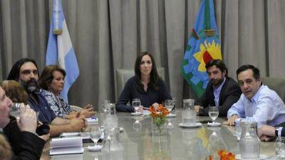 El paro docente afectó la agenda electoral de Vidal