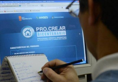 Procrear: hubo 833 inscriptos por hora
