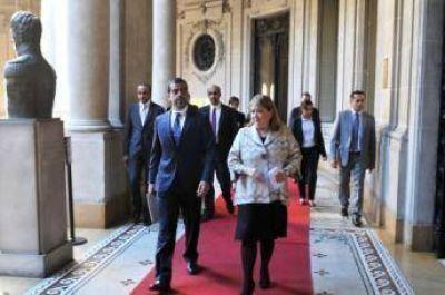 Canciller argentina recibió al Director Gerente del Abu Dhabi Investment Authority