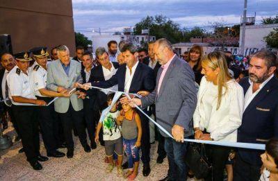 Uñac inauguró el flamante megaedificio de Bomberos