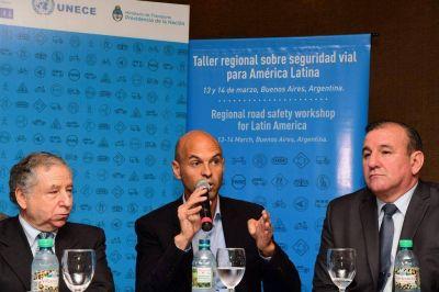 Dietrich y empresarios del transporte de carga se reúnen en Mar del Plata