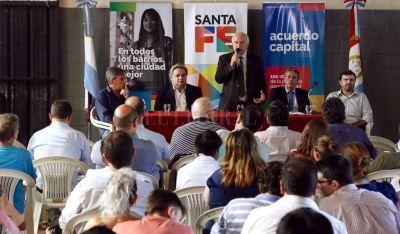 Invertirán más de $ 40 millones en obras para tres barrios de Santa Fe