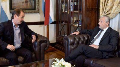Oficialmente, Bordet y Lauritto no hablaron de política