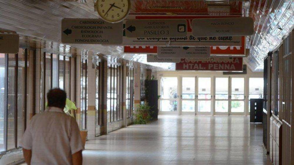 Los médicos del Penna paran por 48 horas en la sexta huelga del año