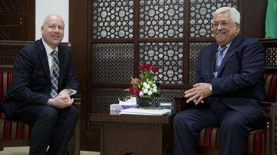 El enviado de Donald Trump se reunió con el presidente de la Autoridad Palestina