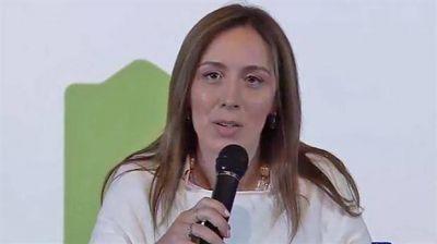 María Eugenia Vidal anunció un adelanto de la paritaria docente y un