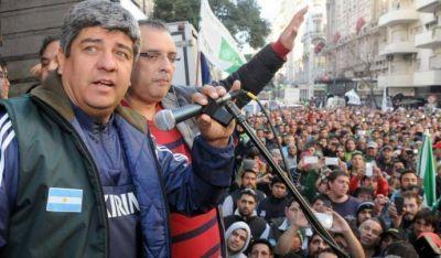 """Pablo Moyano asegura que el paro de la CGT """"será contundente"""""""