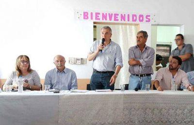 MORALES REPASÓ AGENDA EN YUTO