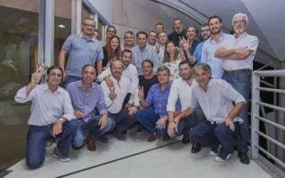 Zabaleta y Katopodis reunieron a dirigentes peronistas