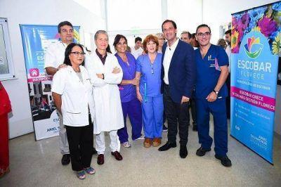 Sujarchuk entregó un subsidio de un millón de pesos al Hospital Erill