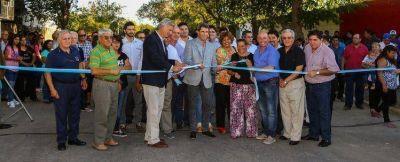 La nueva conexión de cloacas beneficia a 550 familias