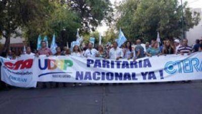 Más de 2.000 docentes marcharon en San Juan