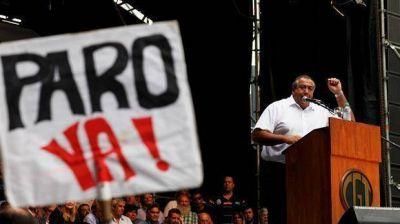 La CGT fijará hoy la fecha de la primera huelga general contra Macri