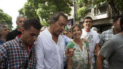Daniel Scioli cenó con los intendentes que empujan la candidatura de Florencio Randazzo