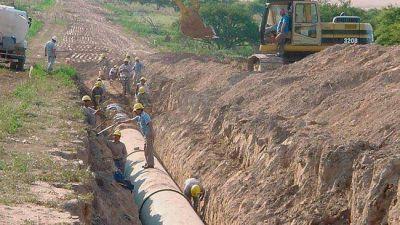 Aprueban un crédito de U$S 130 millones para la obra del acueducto Rio Colorado