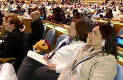 Mercedes Morro participa del Comité sobre Violencia de Género en Nueva York