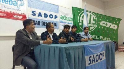 [#UniónSindical] Los gremios marplatenses, juntos por la paritaria docente