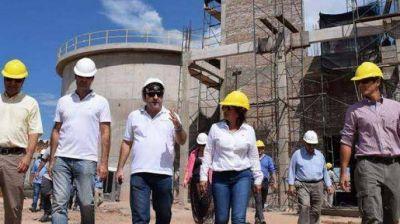 En septiembre finalizará la obra de la planta de tratamiento cloacal