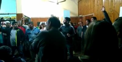 En asamblea, el Sindicato de Trabajadores Municipales votó por 48 horas de paro