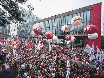 Brasil lucha contra el ajuste jubilatorio