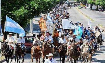 Culminó la primera Cabalgata dedicada al Santo Cura Brochero
