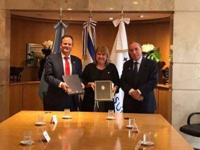 Israel y Argentina firmaron un acuerdo por vuelos civiles entre ambos países