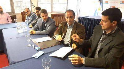 Se firmó el contrato y la semana que viene comienza la obra en la planta cloacal de Bahía Golondrina