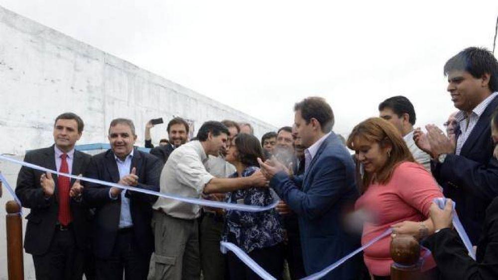 Lucía inauguró una obra hídrica que mejora el servicio para 16.000 usuarios