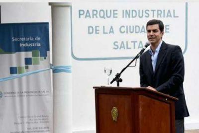 Urtubey inauguró el Centro de Desarrollo Empresarial del Parque Industrial de Salta
