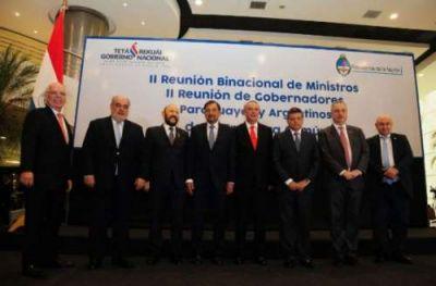 Salta participó de la II Reunión Binacional de Gobernadores de Frontera Común