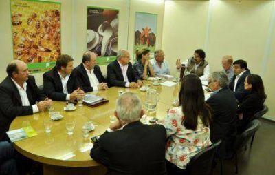 Sancor: el intendente de General Villegas se reunió con autoridades de la provincia