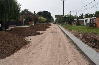 Planean pavimentación para barrio 25 de Mayo y también la señalización de avenidas
