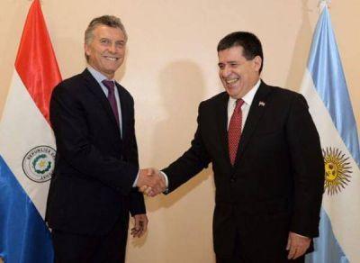 Macri y Cartes acordaron cooperar en materia de energía, infraestructura y seguridad
