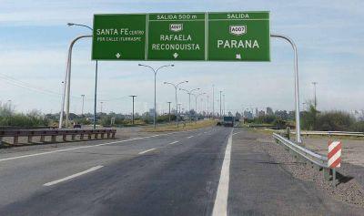 Invertirán $ 2.000 millones para la renovación integral de la autopista Rosario-Santa Fe