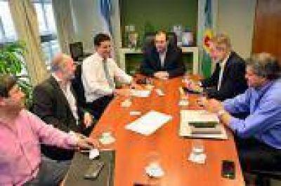 Abad se reunió con el titular del OPDS por el Código de Faltas Ambiental