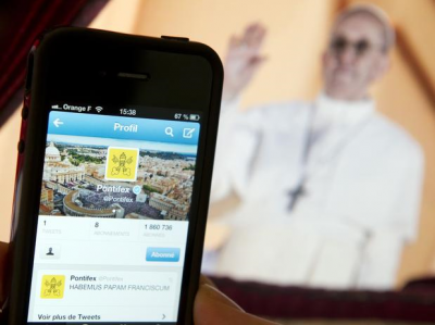 El Papa Francisco suma 11.500 seguidores por día en Twitter