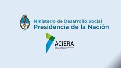 16 MAR NUEVA REUNIÓN DE ACIERA CON EL MINISTERIO DE DESARROLLO SOCIAL DE LA NACIÓN