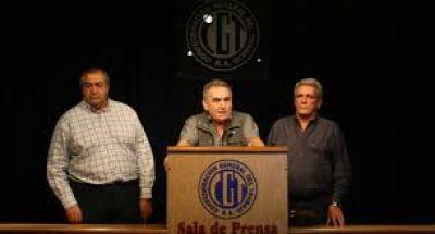 La CGT confirmó que el 6 de abril será el paro nacional, pero sin movilización