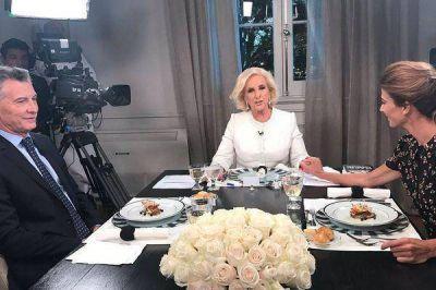 Las 24 definiciones de Mauricio Macri en la mesa de Mirtha Legrand