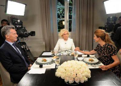 Macri con Mirtha: Se equivocó la jubilación mínima y prometió que no habrá más cambios de gabinete