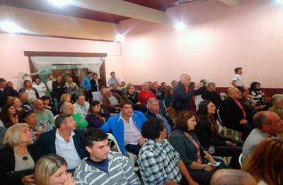 Saralegui presentó su Partido para pelear en las elecciones legislativas