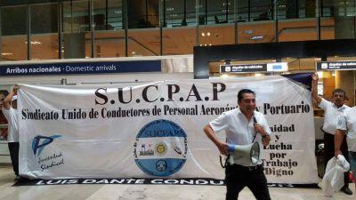 El SUCPAP realiza jornada de lucha por despidos y falta de pago de salarios en Inter-Car
