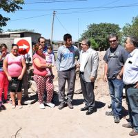 Urbanizacion Integral en el barrio La Esperanza