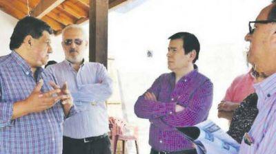El senador Zamora visitó la sede de la Mutual de Empleados de Contaduría