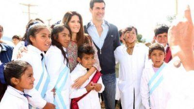 Urtubey inauguró una escuela en Cachi y habló de la inclusión