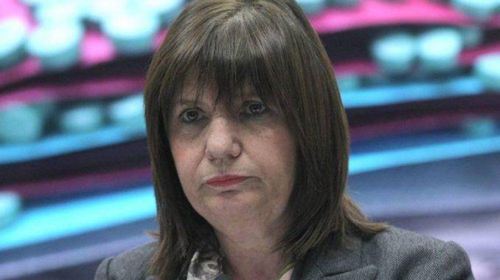 Patricia Bullrich, sobre los piquetes: