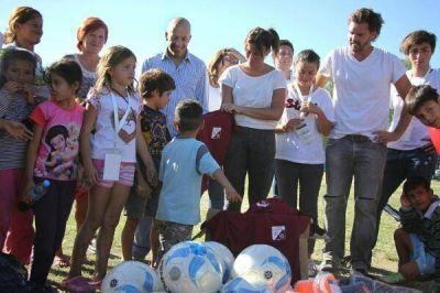 Ducoté participó de una jornada solidaria de Cambiemos en Pilar