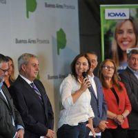 Vidal anunció mejoras en IOMA