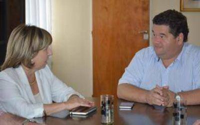 La Diputada María Elena Torresi visitó el municipio de Berisso
